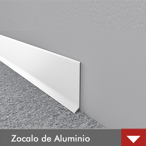 ZOCALO DE ALUMINIO|DECORPLAS SA